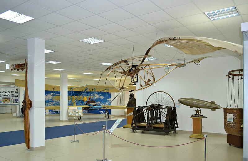 Letatlin No. 3 on display at the Central Air Force Museum in Monino, Russia.