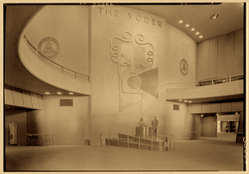 The Voder at the 1939 New York World's Fair