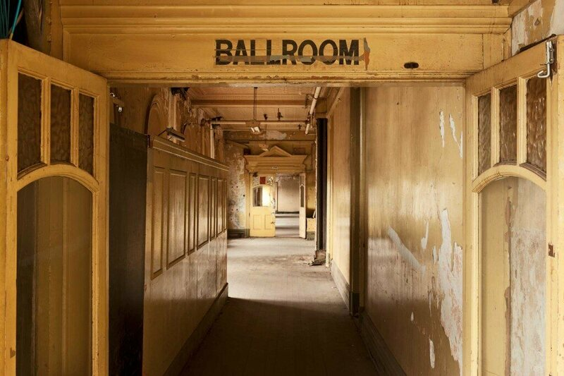 Entrance to the Ballroom.