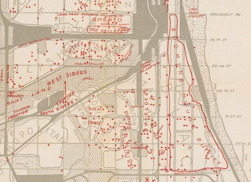 "Polish, Jewish, and Black gangs were found in the expansive ""West Side Wilderness."""