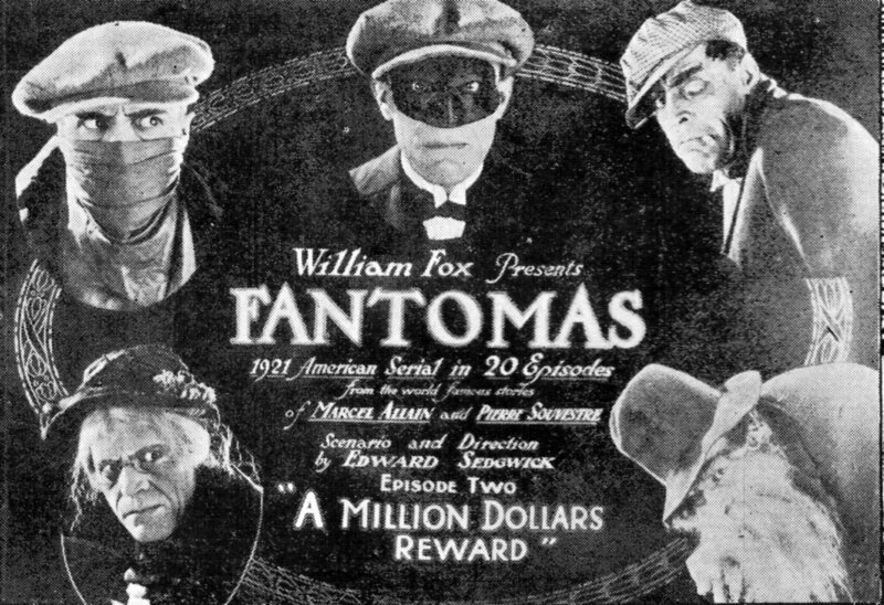 Fantomas wasn't quite as evil in America