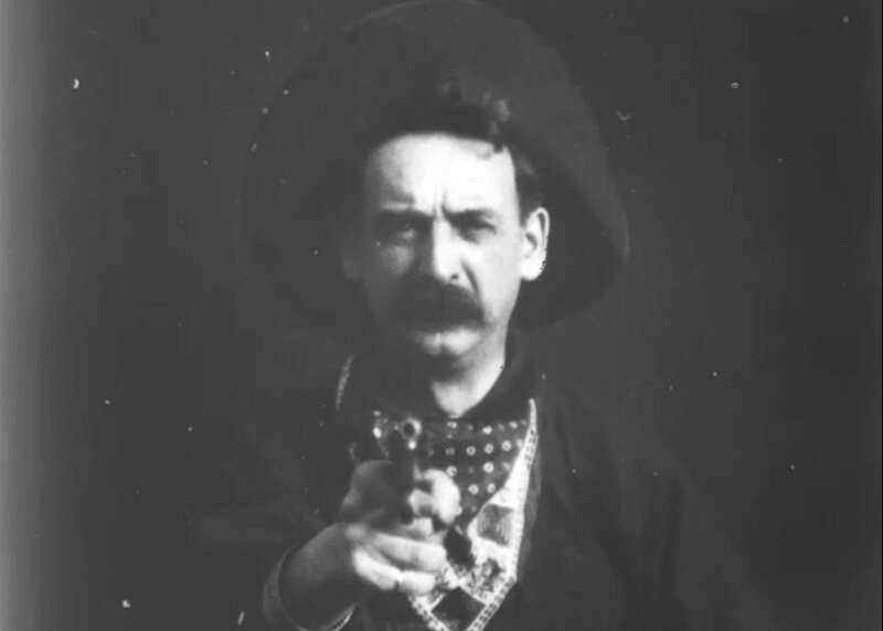 The Great Train Robbery had a villain in a black hat.