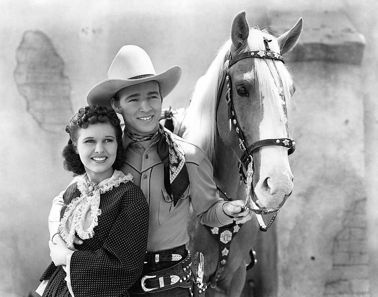 Roy Rogers turned Billy the Kid into a good guy in Billy the Kid Returns.