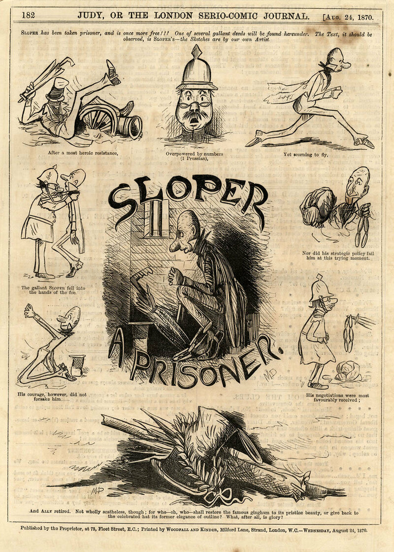 The Ally Sloper comics were filled with physical and musical qualities that one would see on stage.