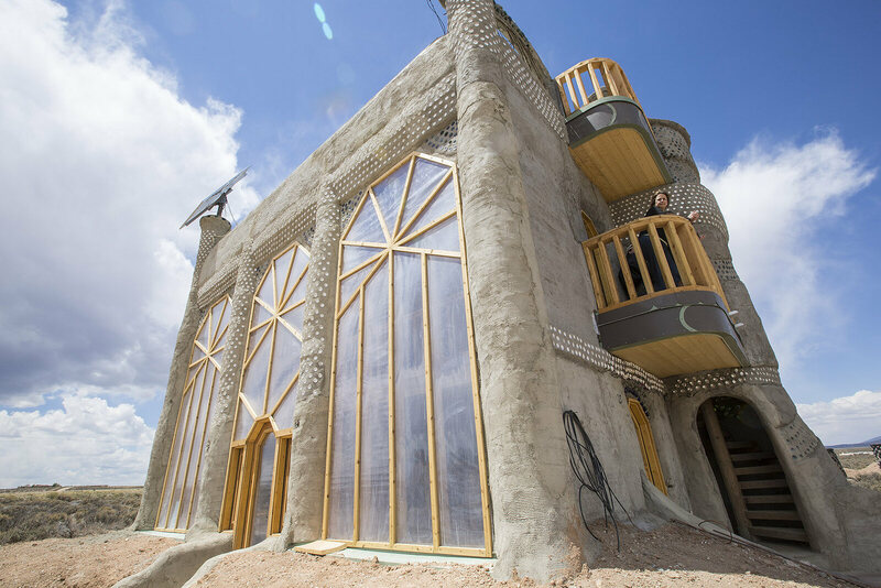 Earthship designs continue to become more sophisticated.