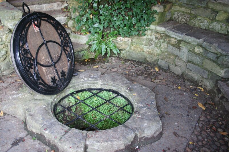 Chalice Well at Glastonbury.