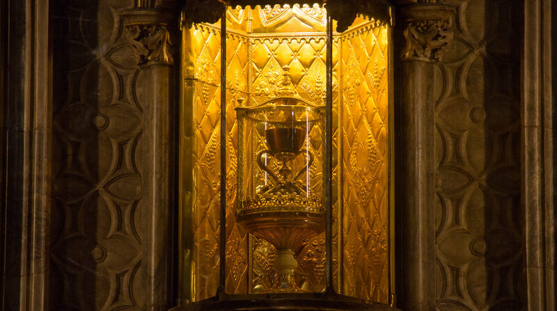 "The ""Holy Grail"" at Valencia Chapel."