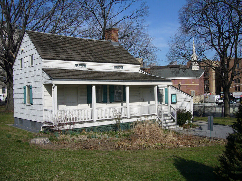 The Bronx cottage where Edgar and Virginia lived