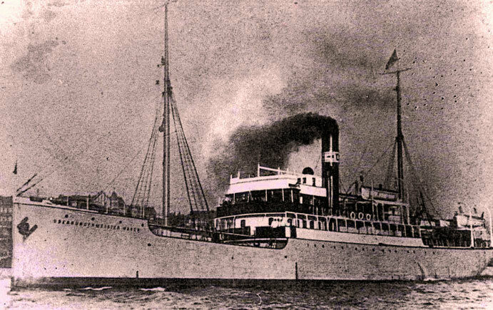 The <em>Oberburgermeister Haken</em> was one of two ships to carry intellectuals from the early USSR in 1922.