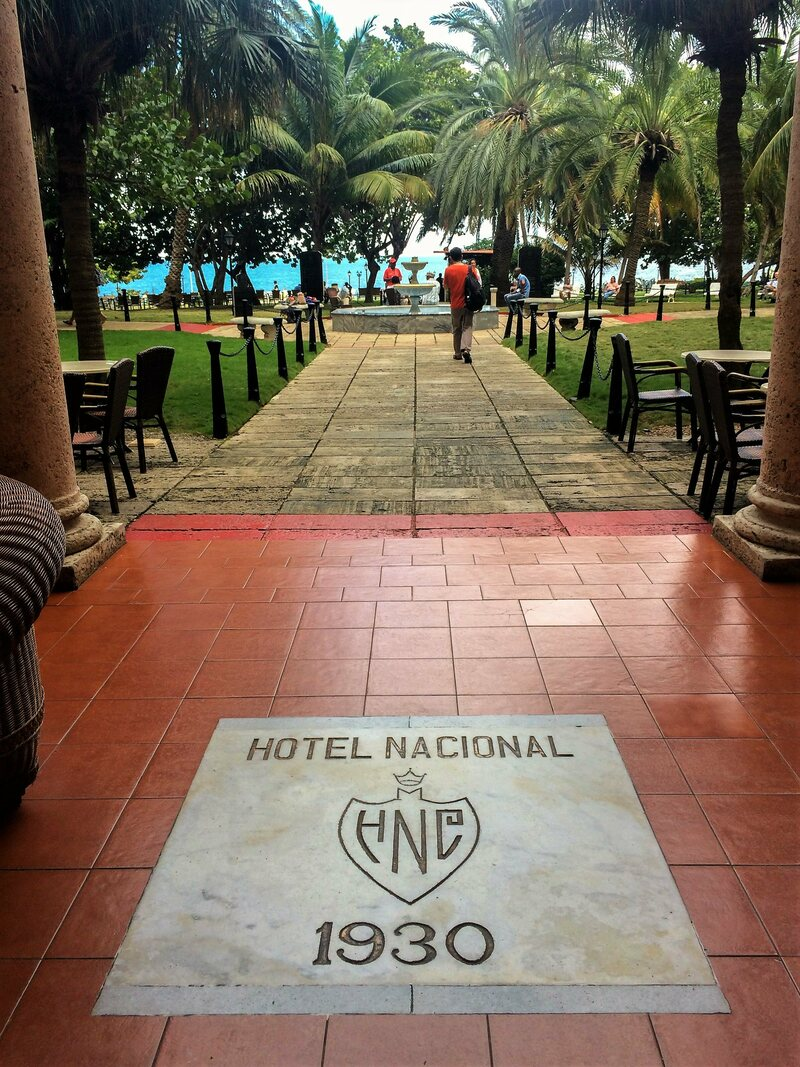 The Hotel Nacional de Cuba, the location of Wormold's near assassination by rival spies.