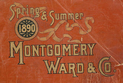 The cover of an 1890 catalog.