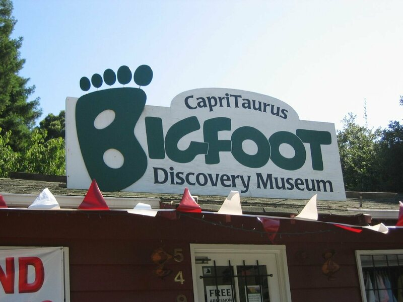 Bigfoot Discovery Museum in Felton.