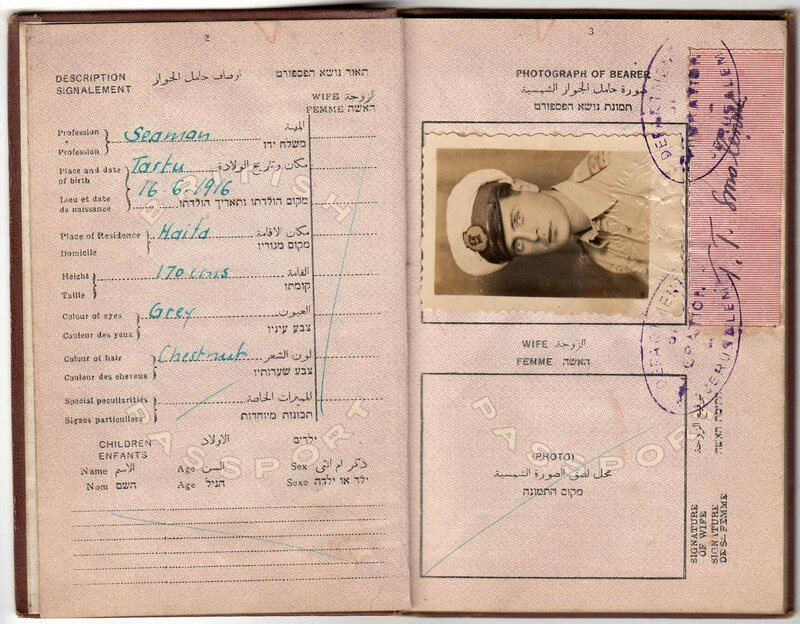 Captain Tuve T. Smolensk was not only a great rescuer, he also put together an extremely collectible passport.