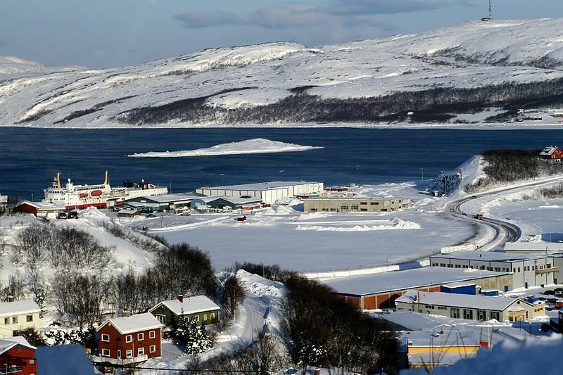 Kirkenes in winter.