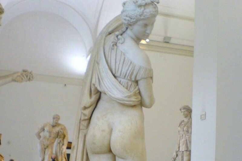 """""""Venus Kallipygos,"""" or """"Venus with the lovely ass"""""""