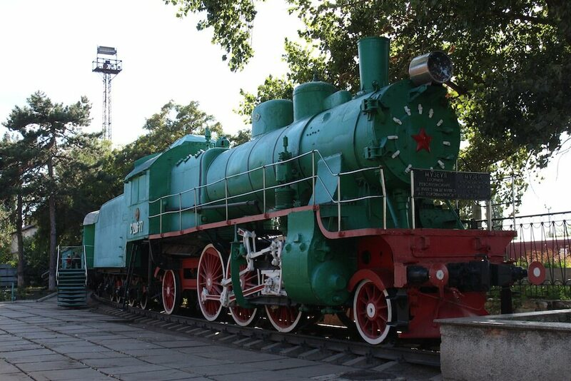 The Bendery Military Museum is housed inside an old Soviet train.