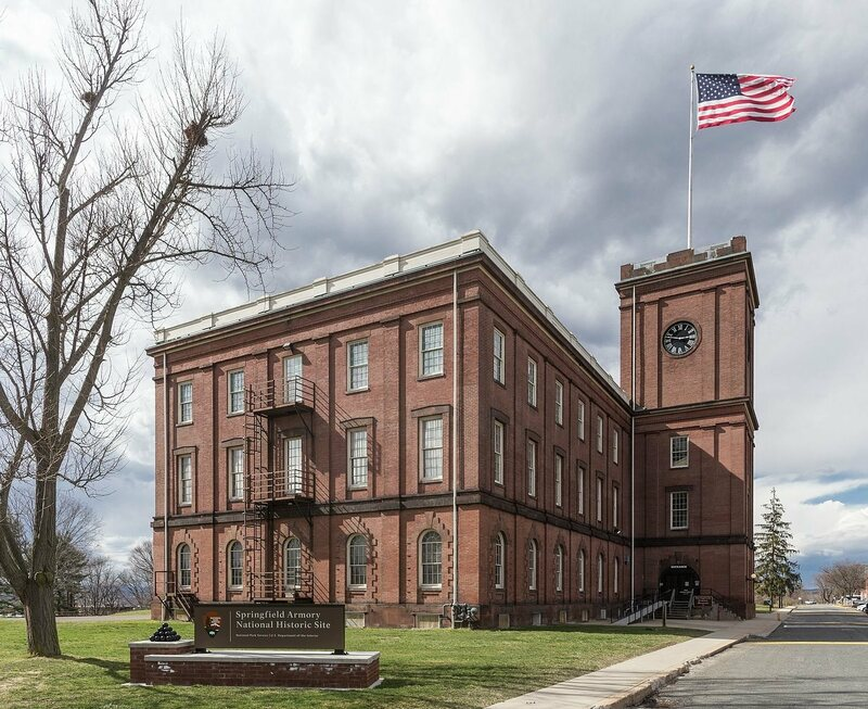The Springfield Armory in 2016, now a National Historic Site.