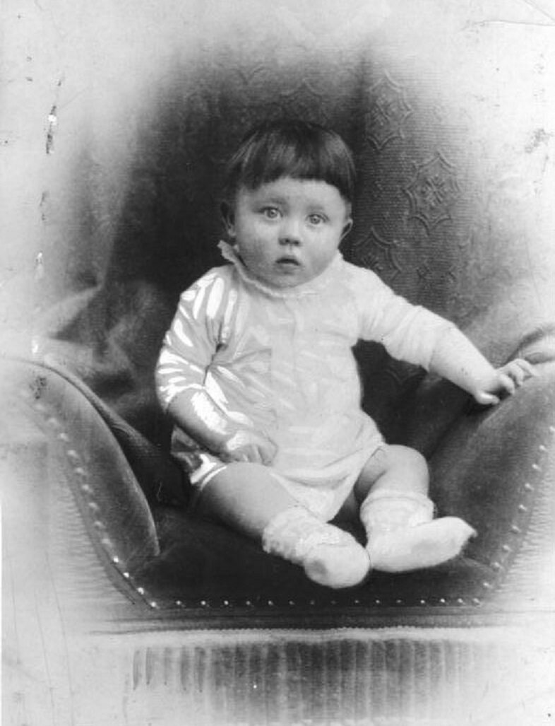 The real baby Hitler, c. 1889-90