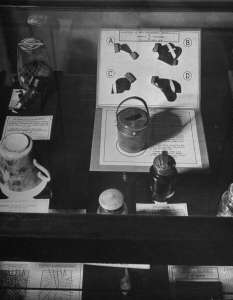 The name Black Museum first appeared in press on April 8, 1877, when a reporter from The Observer used the term in a derogatory manner (he had previously been refused entry by Inspector Neame).