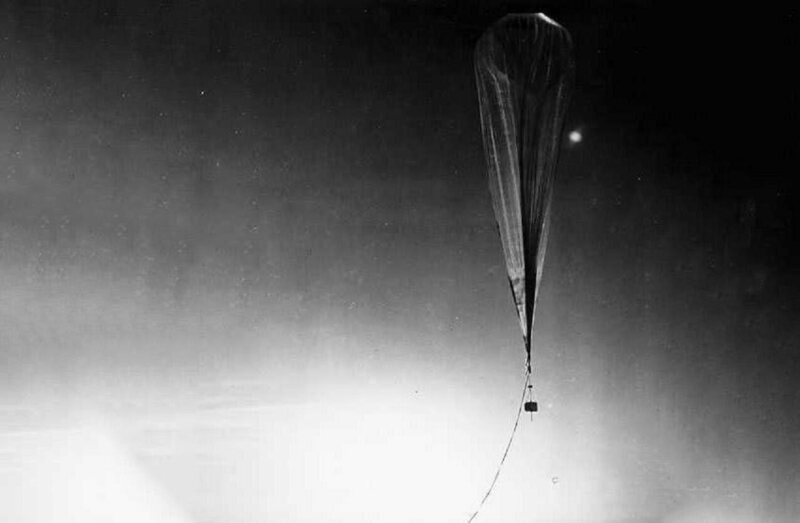 Of the more than 500 Moby Dick balloons launched, only 44 were recovered.