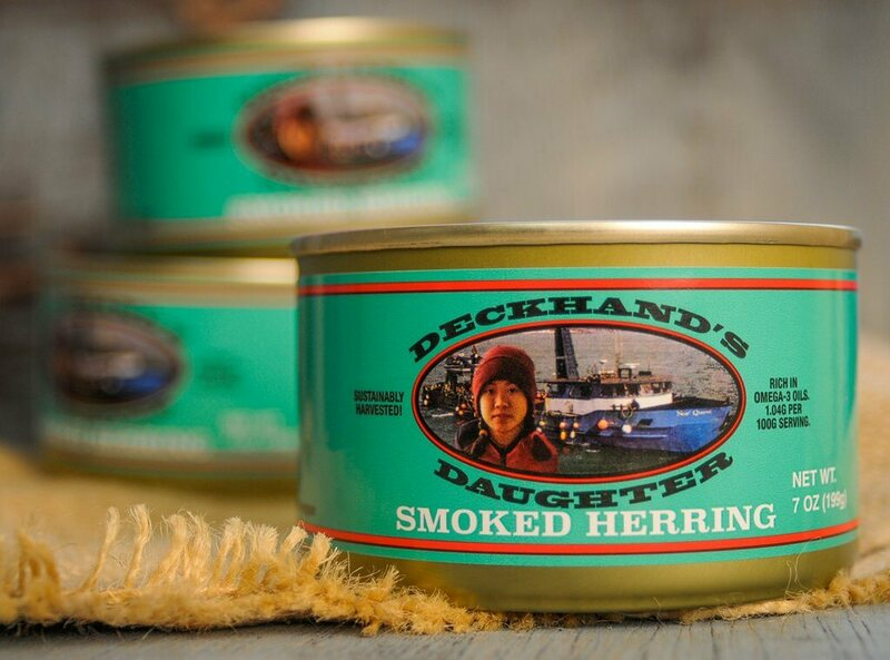 Lew's award-winning smoked herring.