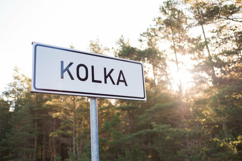 Livonian, once heard around the village of Kolka, has disappeared.