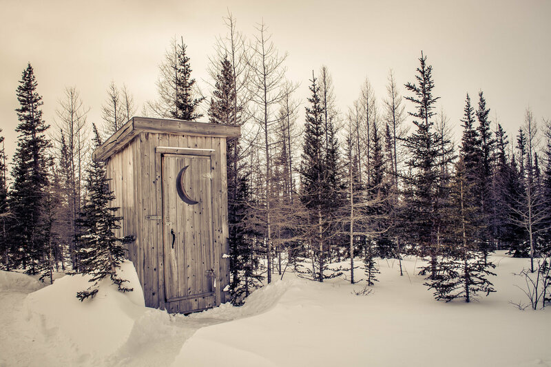 A fine looking place to relieve yourself. & Why We Think Outhouses All Had Crescent Moons in Their Doors ... Pezcame.Com