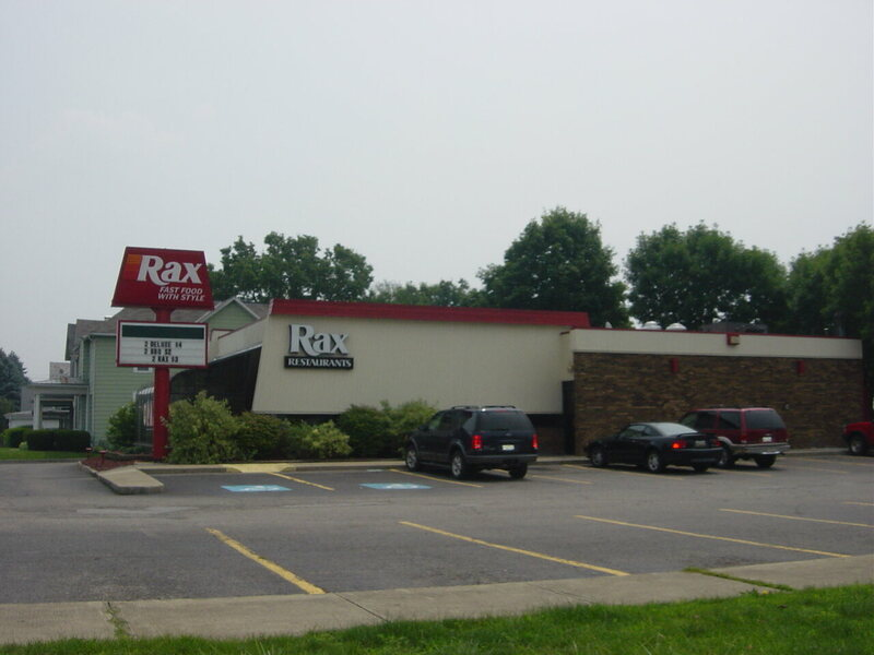 A Rax in Lancaster, Ohio.