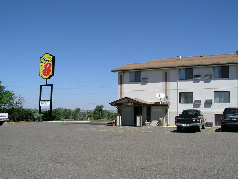 A different Super 8 Motel, in Montana.
