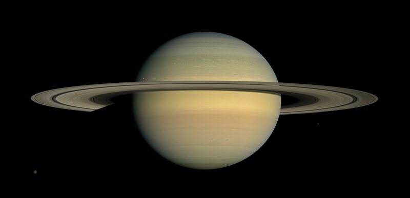 Cassini sent this, too.