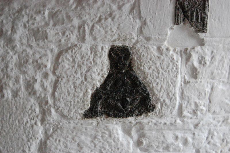 A Sheela-na-gig in Cratloe, Ireland.