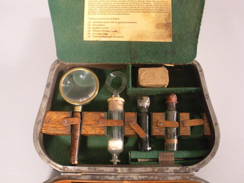 Vampire-Killing Kit. Maker unknown.