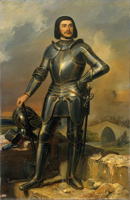 Gilles de Rais, painted in 1835.