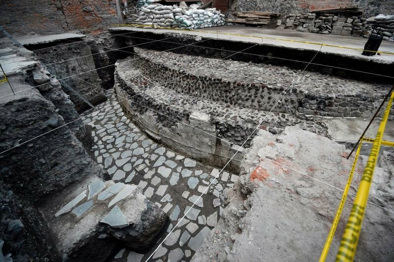 This temple has been hiding under the center of Mexico City for centuries.