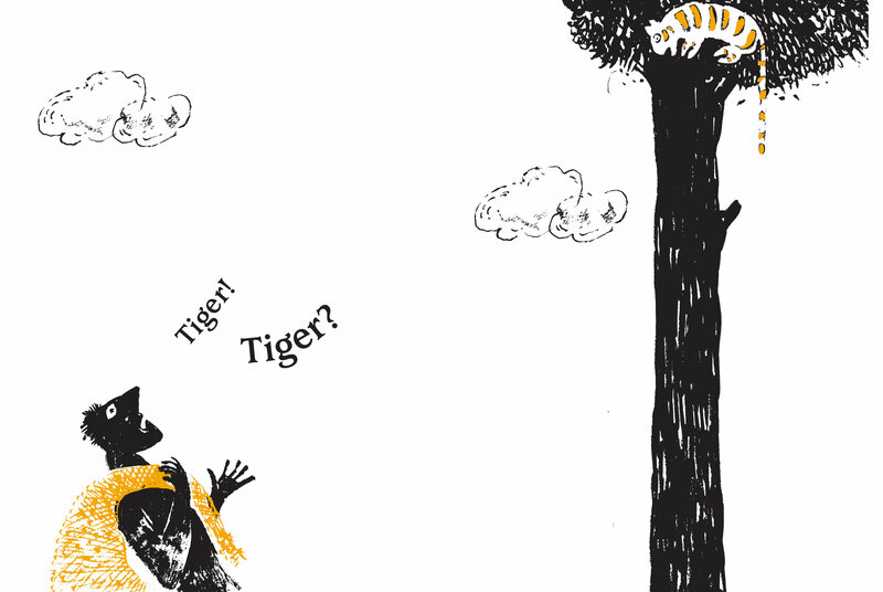 <em>Tiger on a Tree</em>.