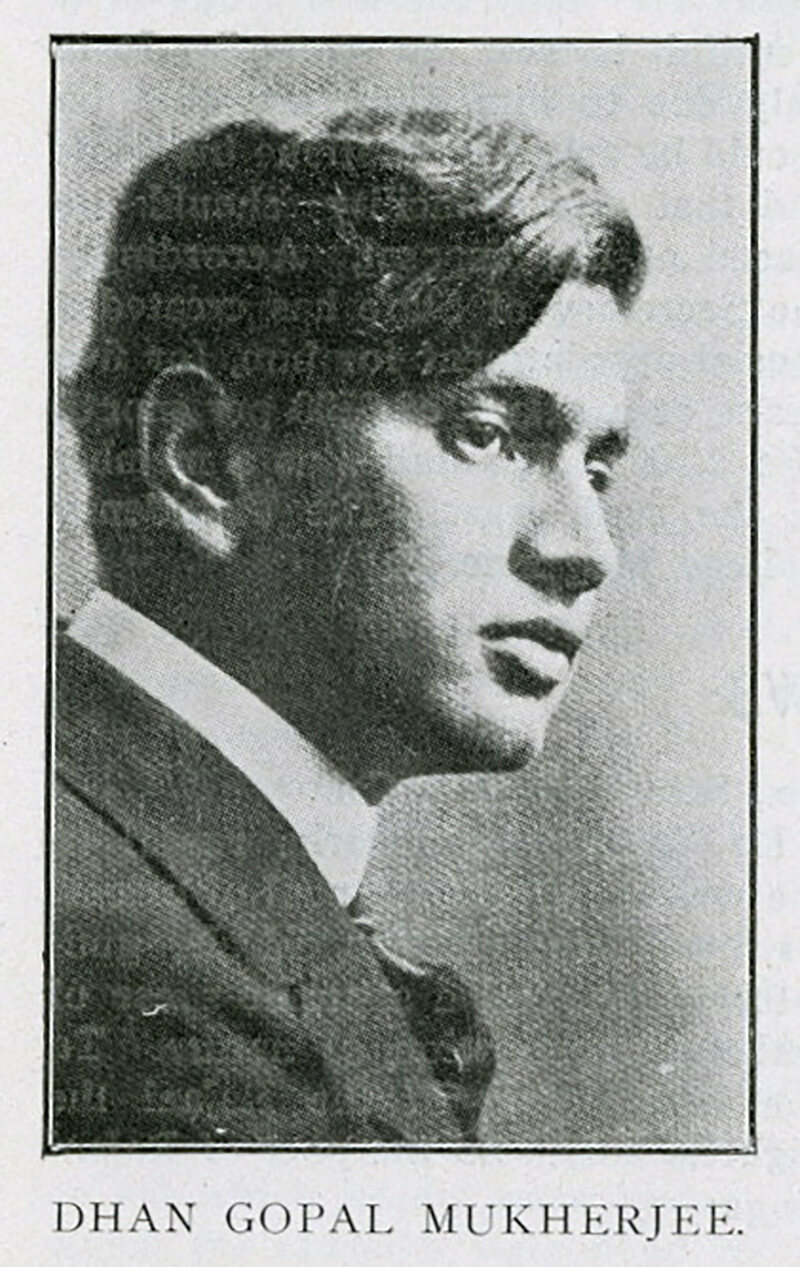 Portrait of Dhan Gopal Mukerji, 1916.