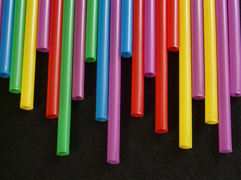 An estimated 500 million plastic straws are used by Americans every day.