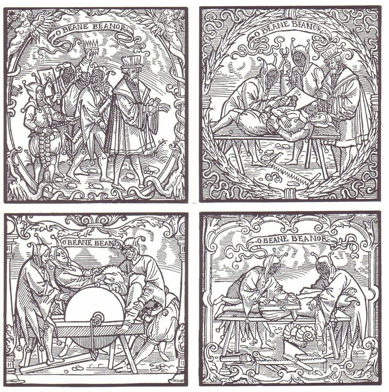 A 16th-century sketch of Deposition.