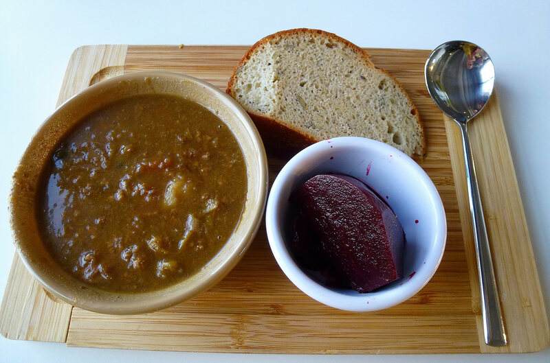 A bowl of scouse, the iconic dish of Liverpudlian dockworkers.