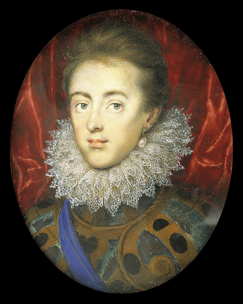 Charles at age fifteen