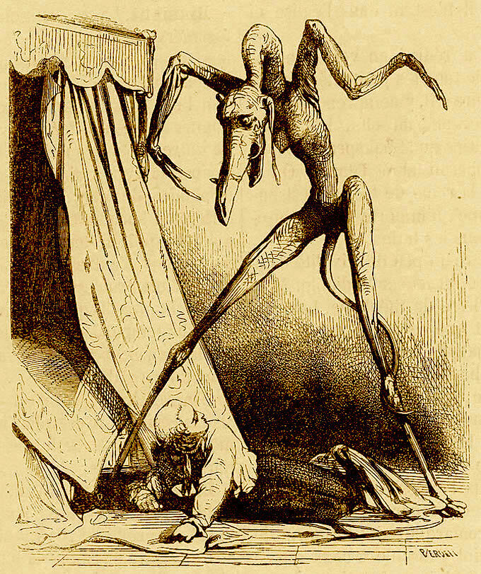 A demon from the <em>Dictionnaire Infernal</em>.
