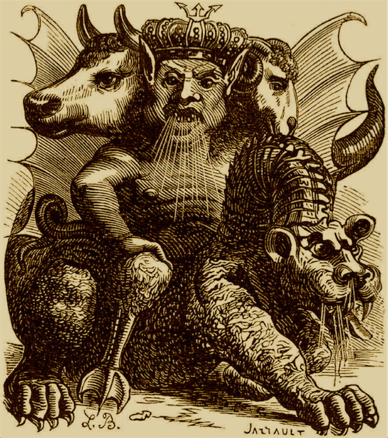 Biblical demon, Asmodeus.