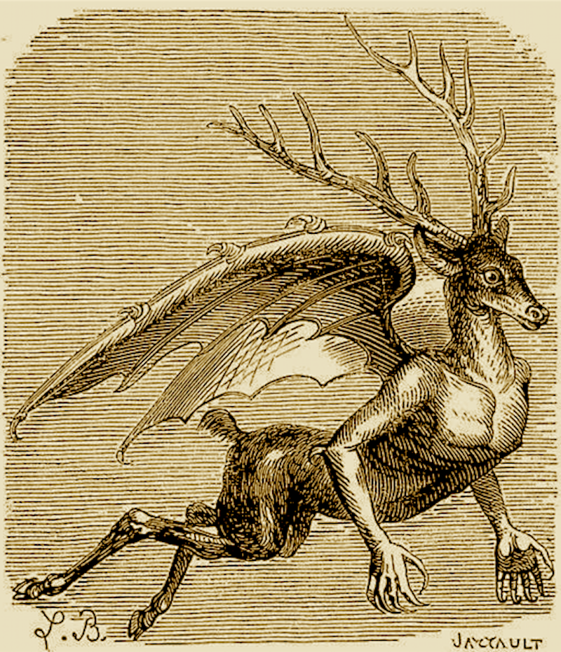 Just one of the dozens of demons from the <em>Dictionnaire Infernal</em>.
