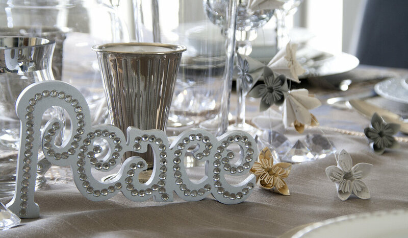 Tablescaping is about both decoration and impeccable place-setting.