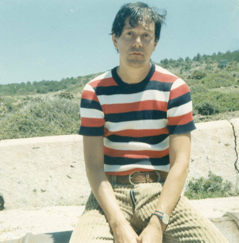 Joe Orton in Tangiers, 1967.