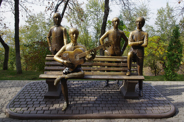 The Beatles were as big in Kazakhstan as they were anywhere else in the world.