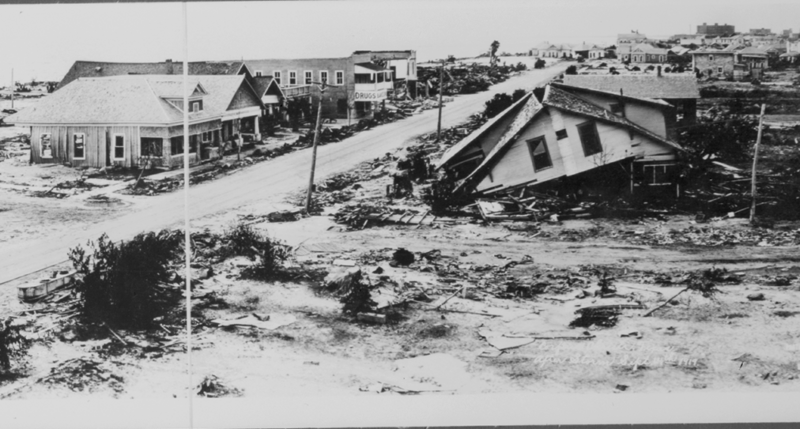 Corpus Christi after the 1919 storm.