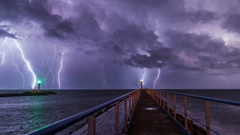 Sea lightning is on the rise.