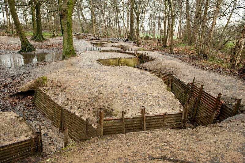 The Perfectly Preserved World War I Trench Atlas Obscura
