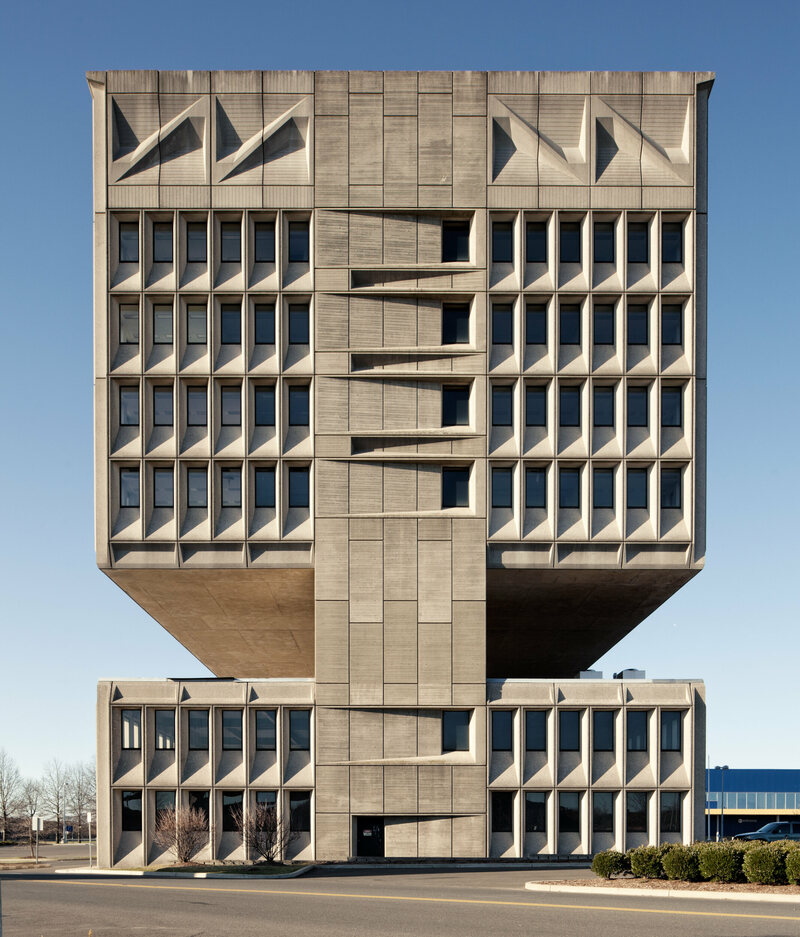 The brutal beauty of concrete buildings atlas obscura for Architecture brutaliste